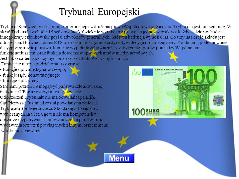 Trybunał Europejski