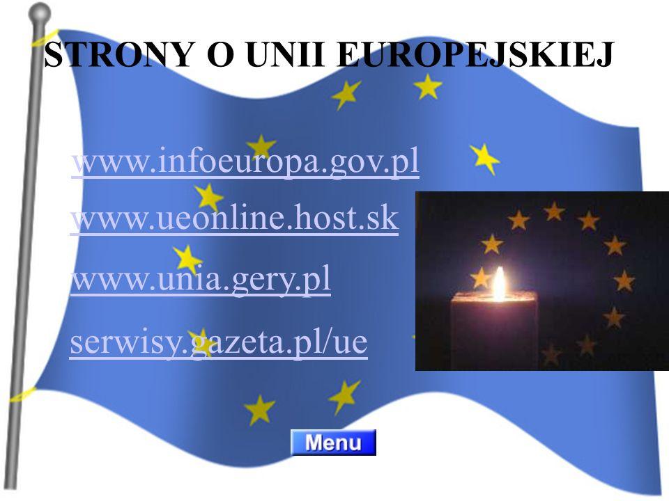 STRONY O UNII EUROPEJSKIEJ