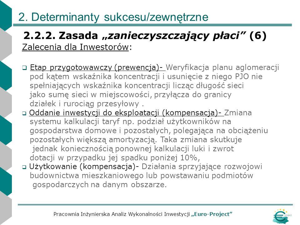 2. Determinanty sukcesu/zewnętrzne