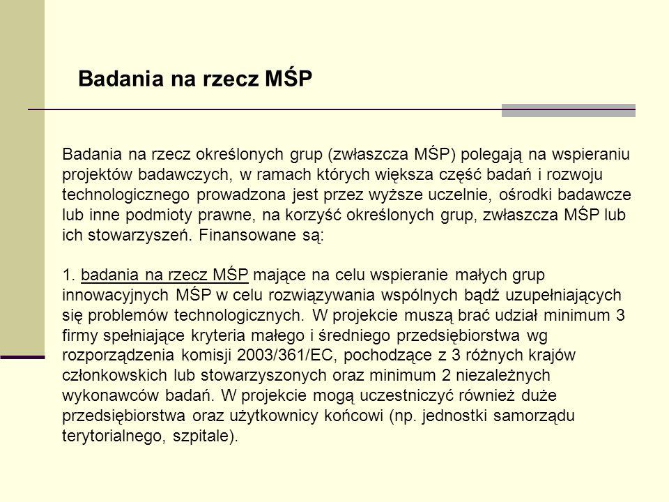 Badania na rzecz MŚP