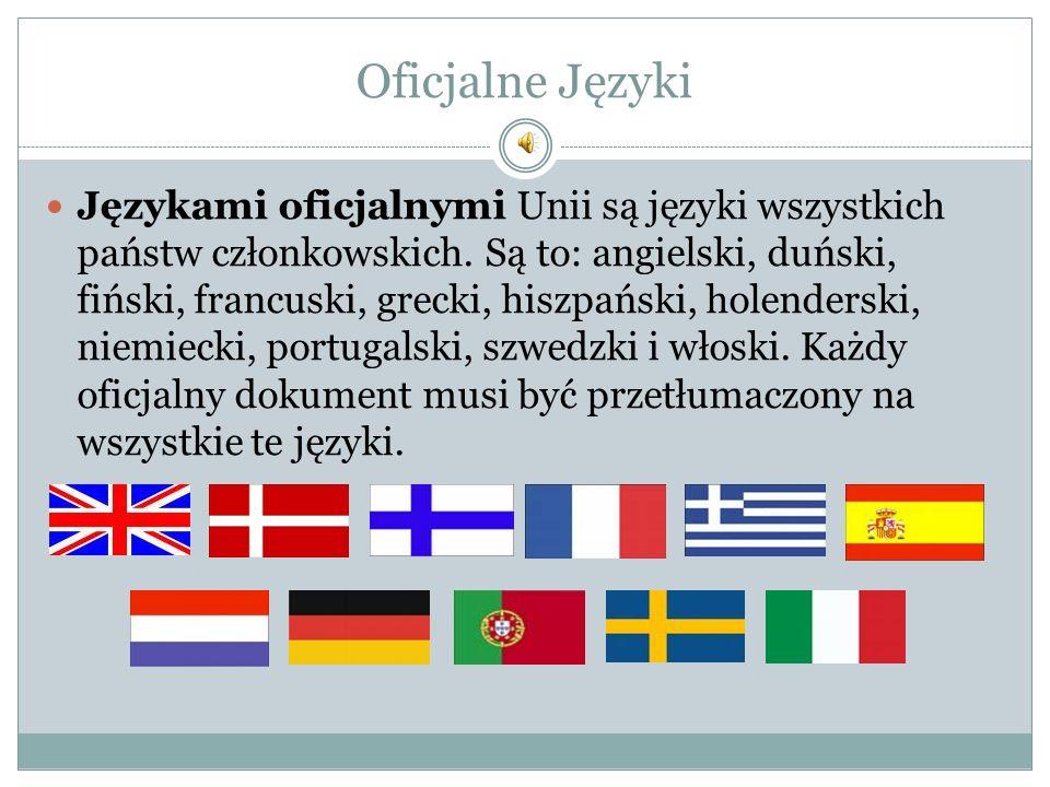 Oficjalne Języki