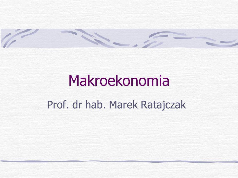 Prof. dr hab. Marek Ratajczak