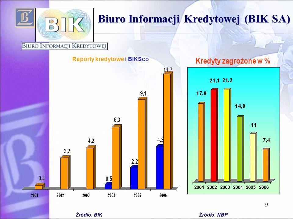 Biuro Informacji Kredytowej (BIK SA)