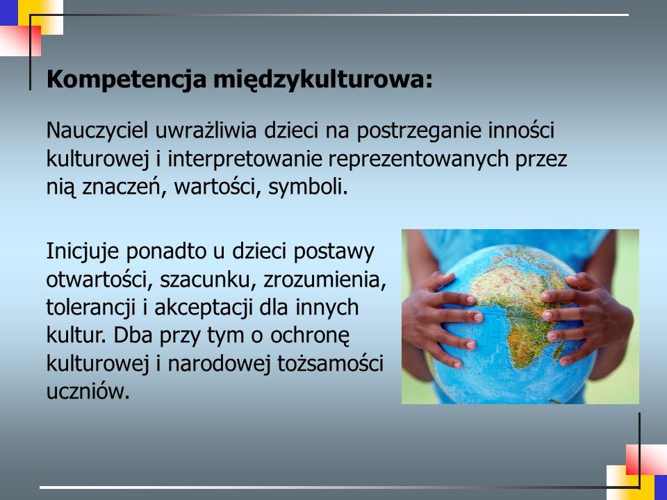 Kompetencja międzykulturowa: