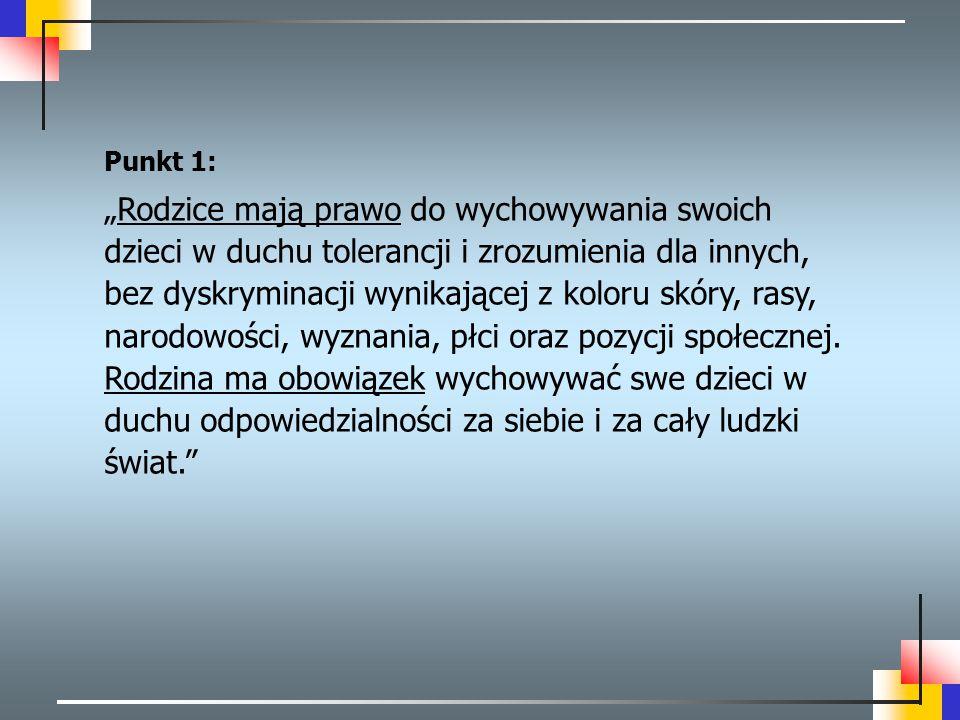 Punkt 1: