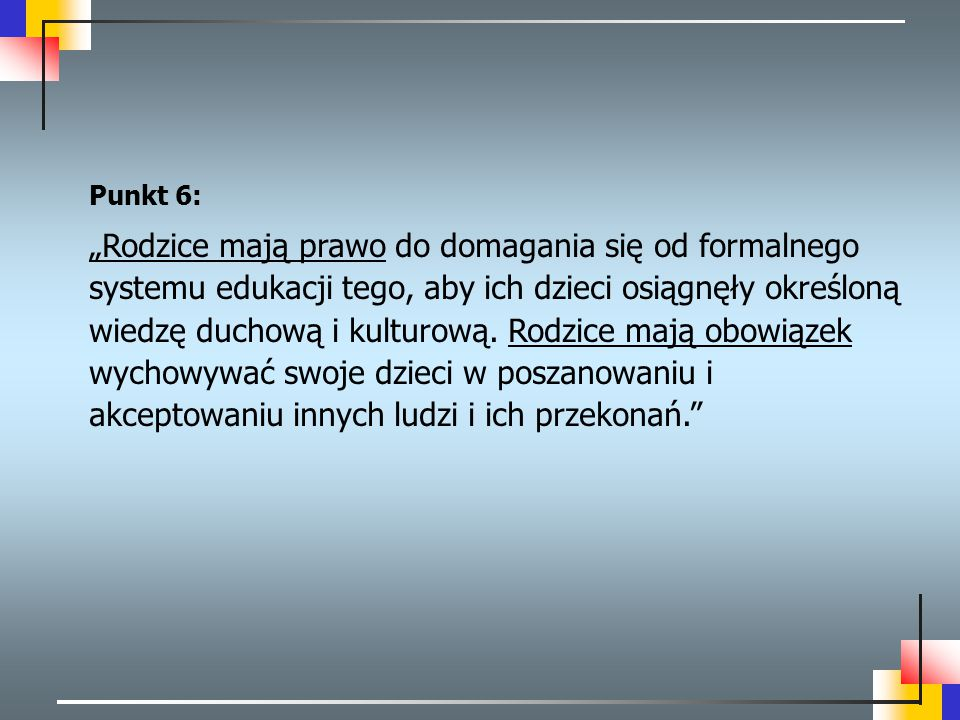 Punkt 6: