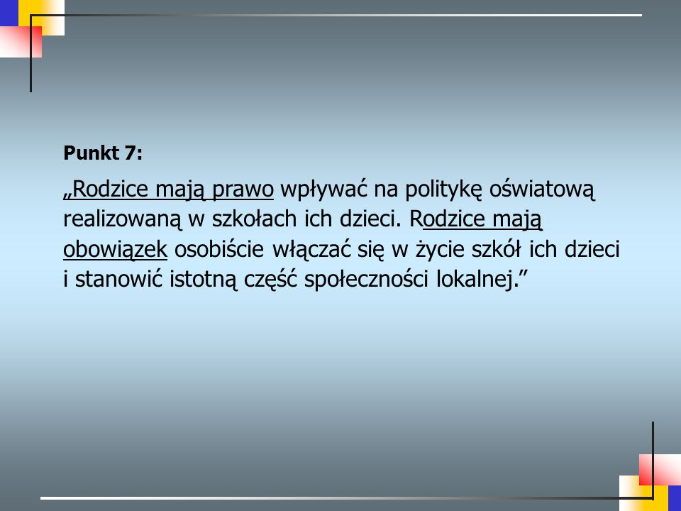 Punkt 7:
