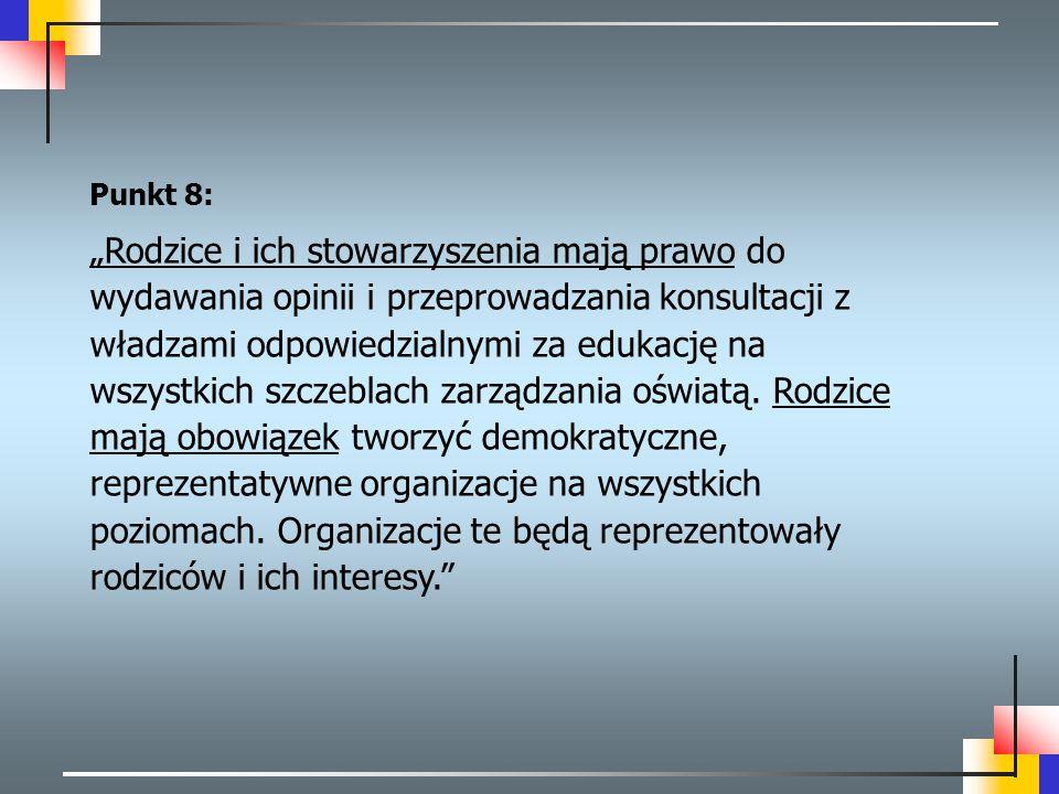 Punkt 8: