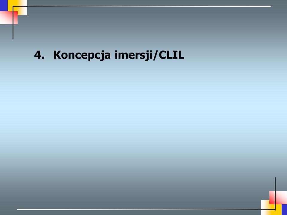 Koncepcja imersji/CLIL