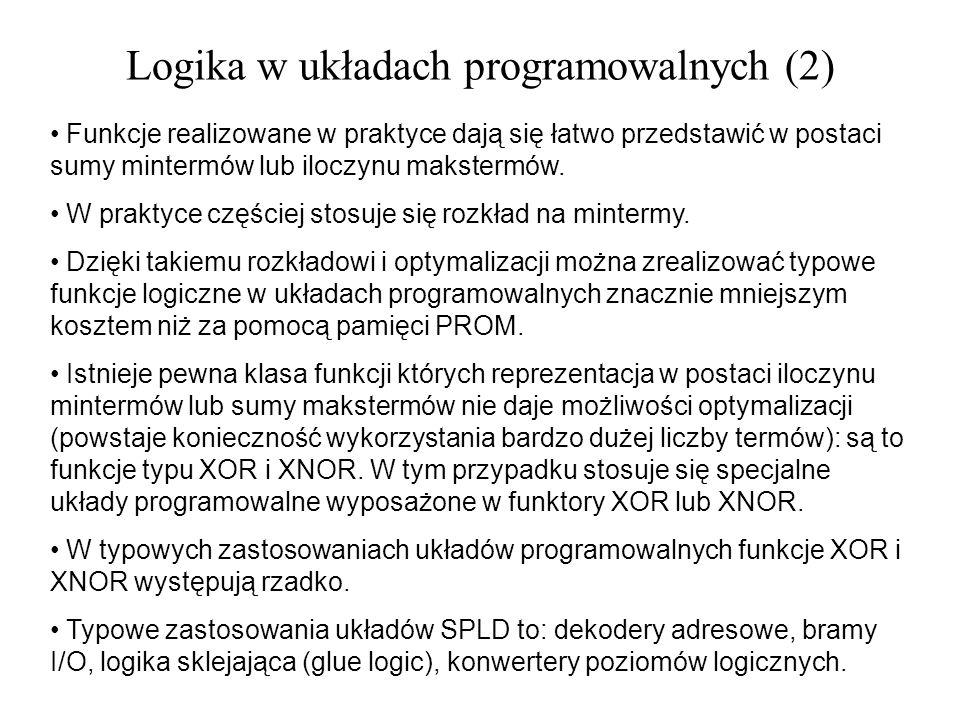 Logika w układach programowalnych (2)