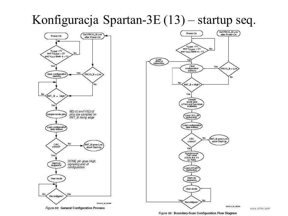 Konfiguracja Spartan-3E (13) – startup seq.