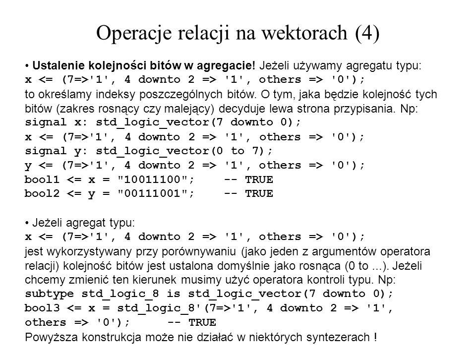 Operacje relacji na wektorach (4)