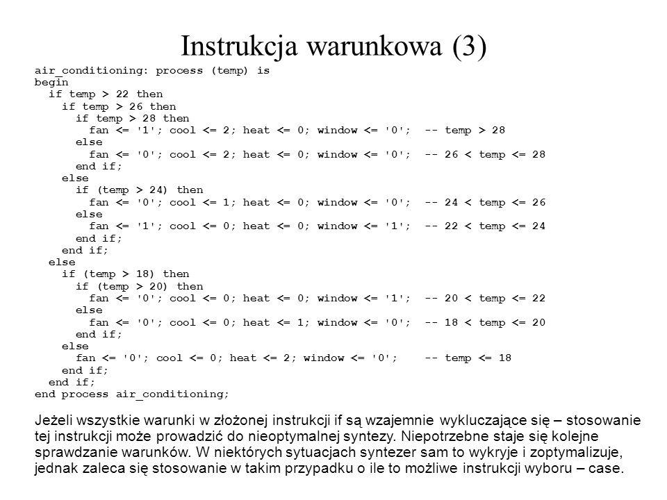 Instrukcja warunkowa (3)