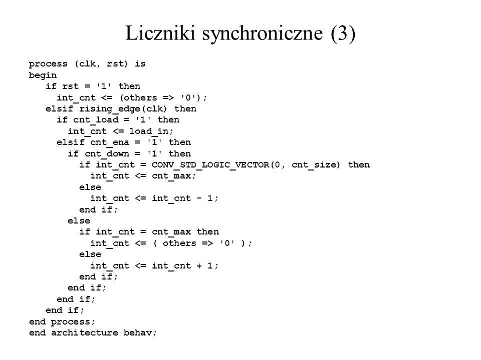 Liczniki synchroniczne (3)