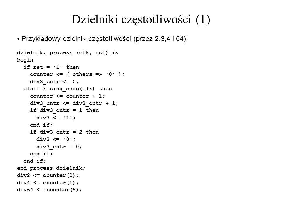 Dzielniki częstotliwości (1)