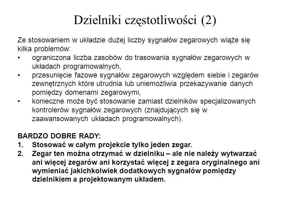 Dzielniki częstotliwości (2)