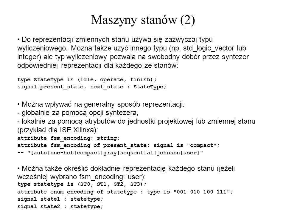 Maszyny stanów (2)