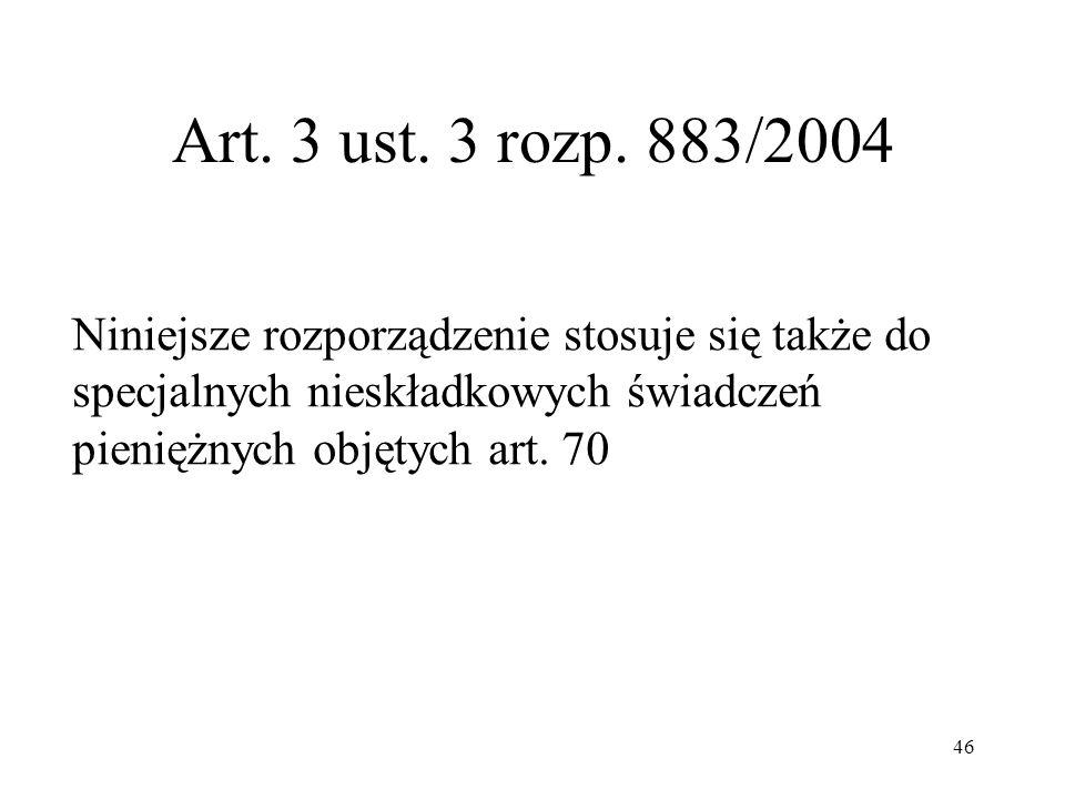 Art.3 ust. 3 rozp.