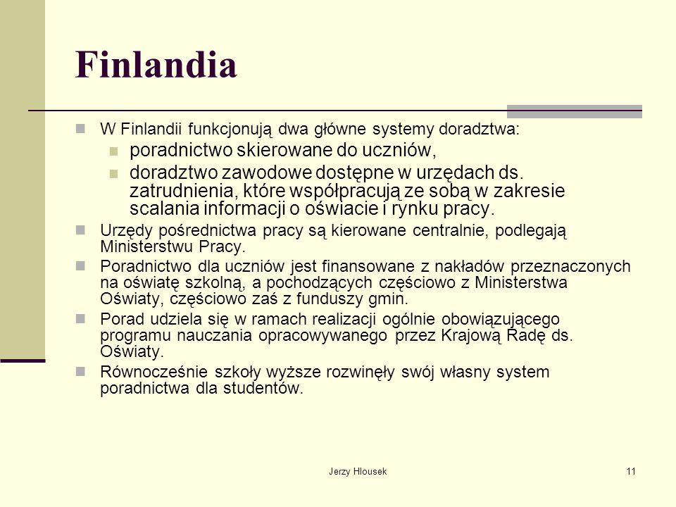 Finlandia poradnictwo skierowane do uczniów,