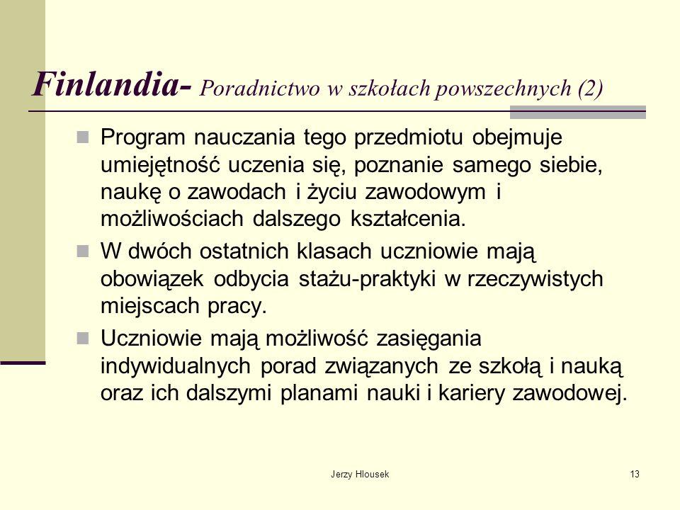 Finlandia- Poradnictwo w szkołach powszechnych (2)