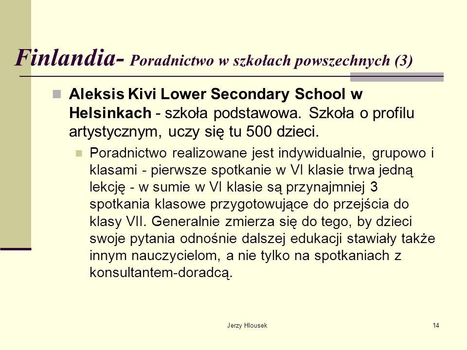 Finlandia- Poradnictwo w szkołach powszechnych (3)