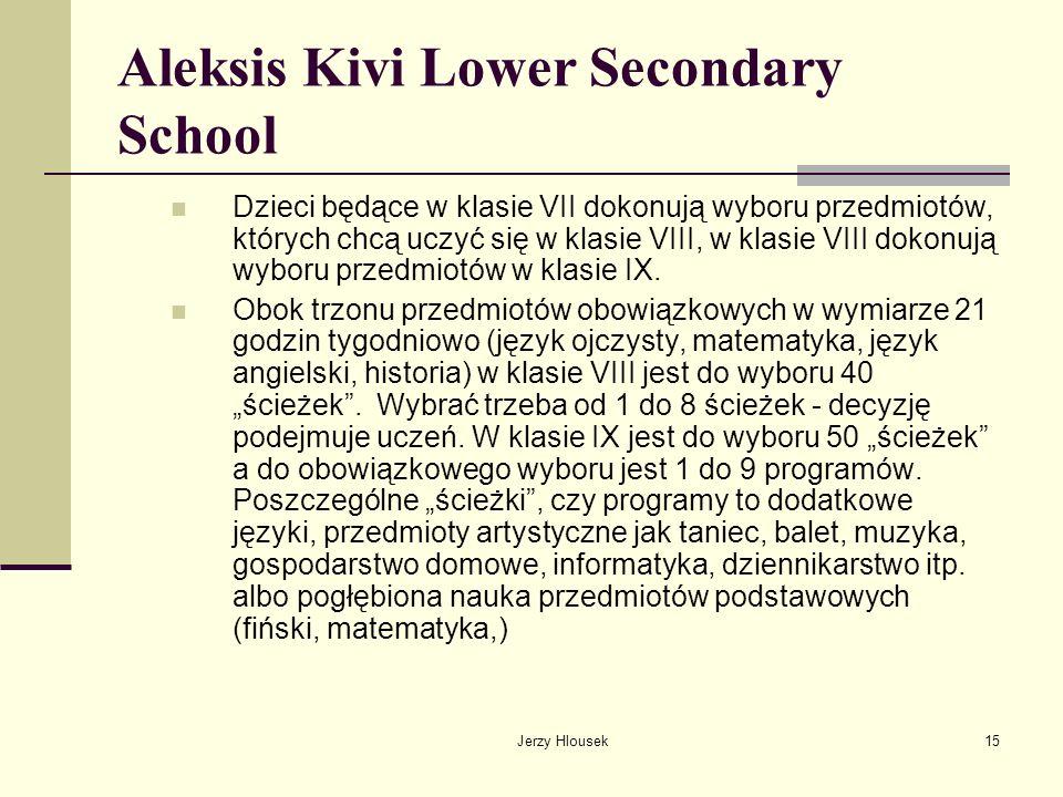 Aleksis Kivi Lower Secondary School