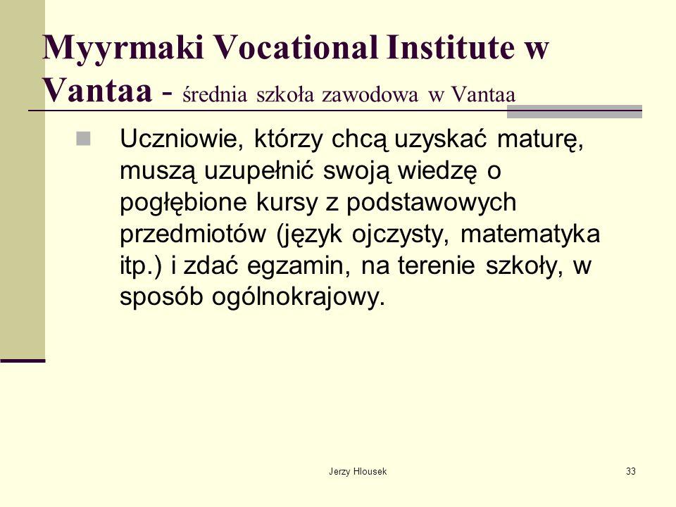 Myyrmaki Vocational Institute w Vantaa - średnia szkoła zawodowa w Vantaa