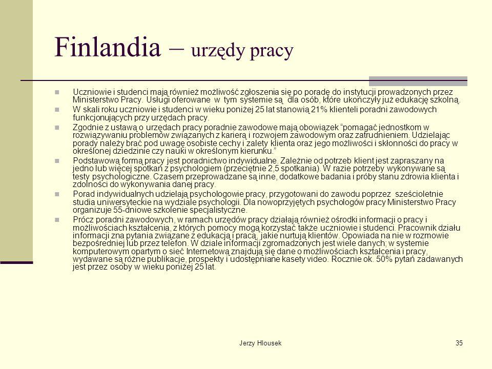 Finlandia – urzędy pracy