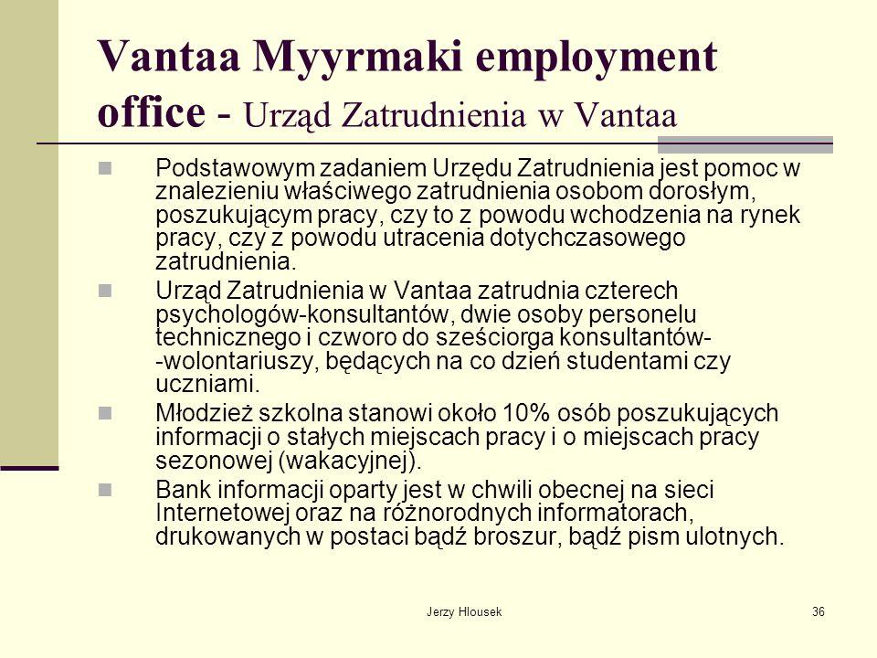 Vantaa Myyrmaki employment office - Urząd Zatrudnienia w Vantaa