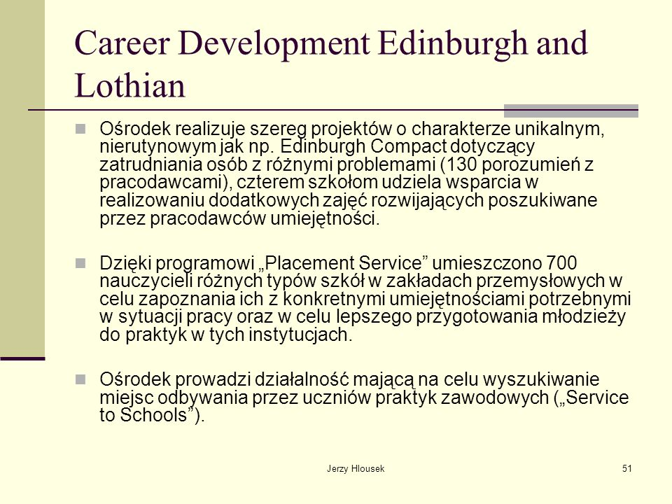 Career Development Edinburgh and Lothian