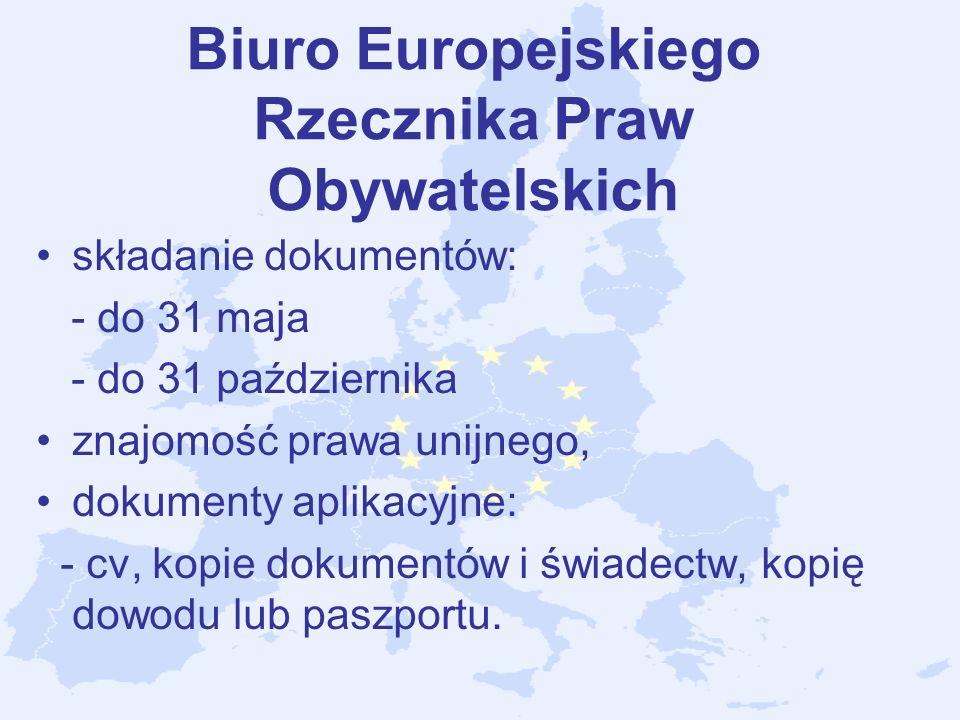Biuro Europejskiego Rzecznika Praw Obywatelskich