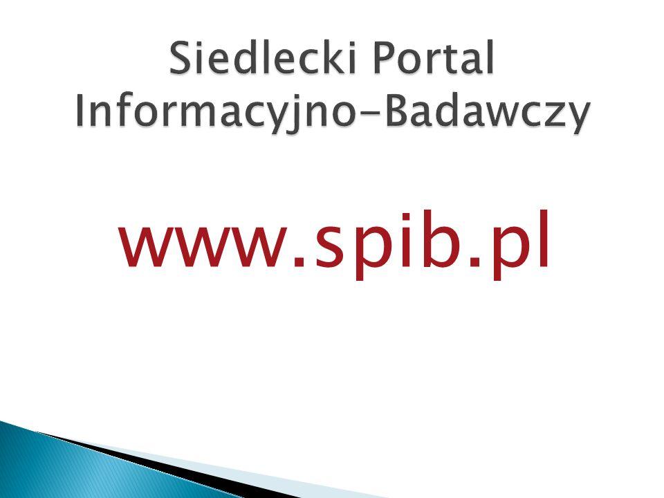 Siedlecki Portal Informacyjno-Badawczy