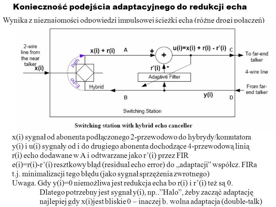 Konieczność podejścia adaptacyjnego do redukcji echa