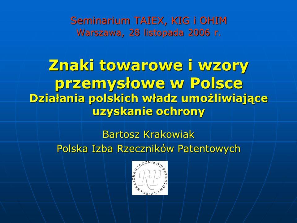 Bartosz Krakowiak Polska Izba Rzeczników Patentowych