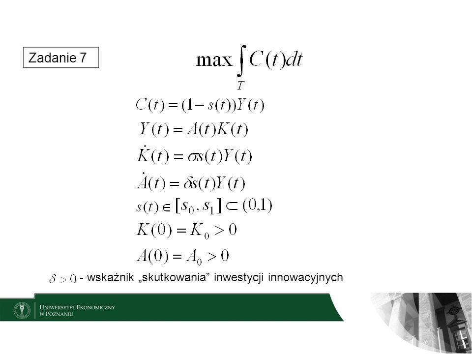 """Zadanie 7 - wskaźnik """"skutkowania inwestycji innowacyjnych"""