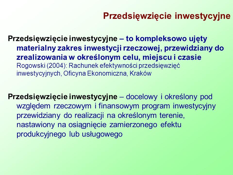 Przedsięwzięcie inwestycyjne