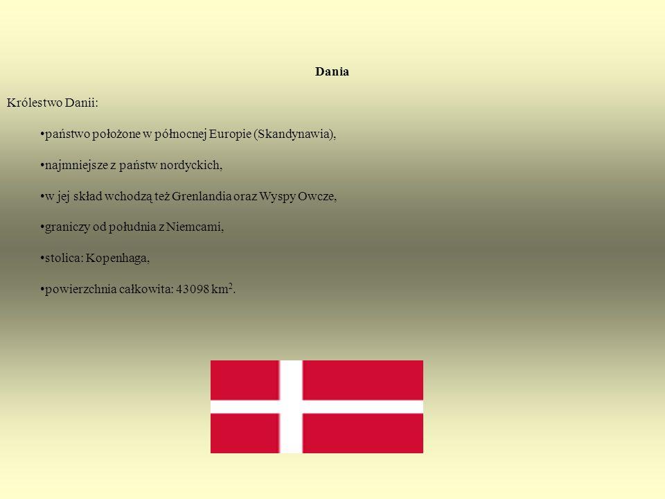 państwo położone w północnej Europie (Skandynawia),
