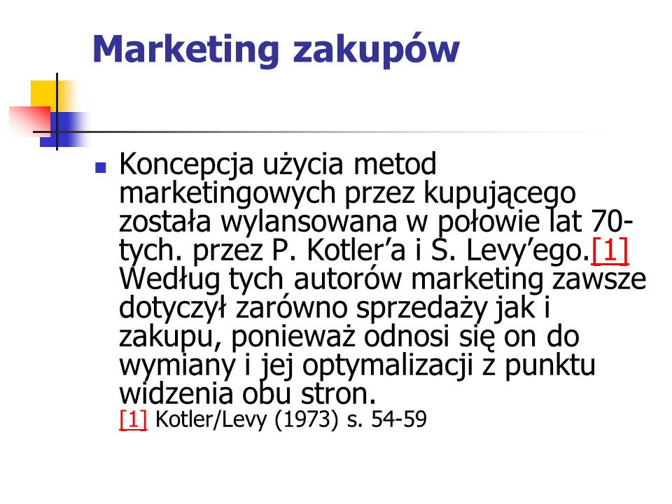 Marketing zakupów