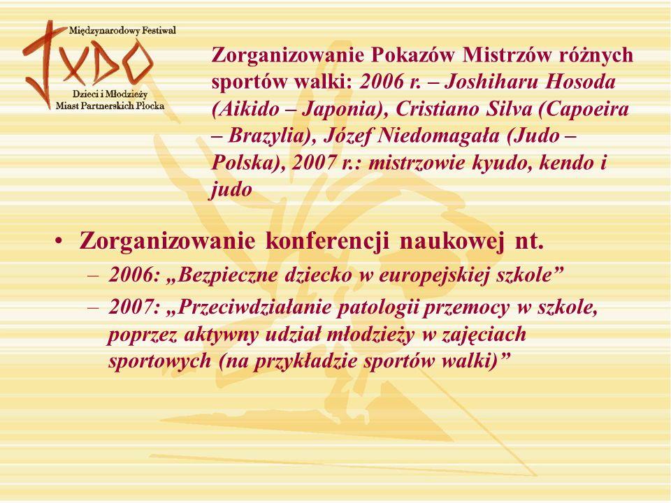 Zorganizowanie konferencji naukowej nt.