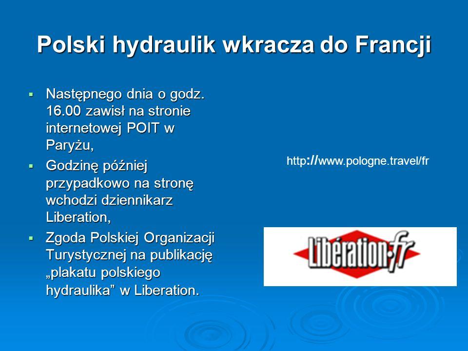 Polski hydraulik wkracza do Francji