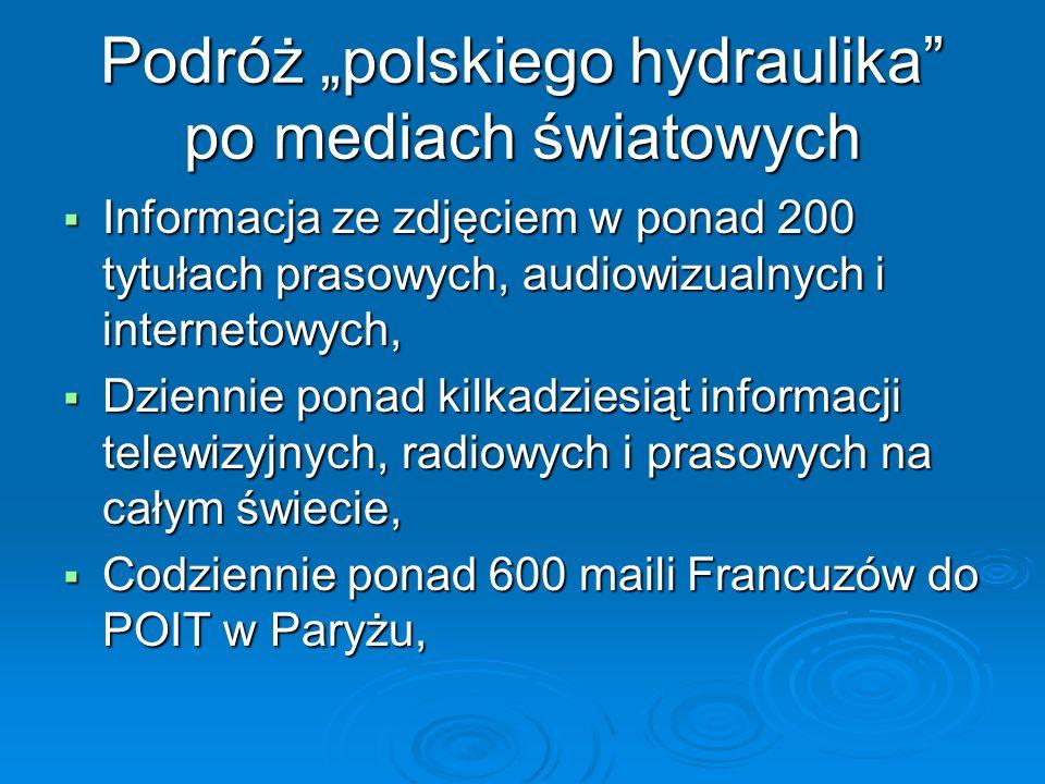 """Podróż """"polskiego hydraulika po mediach światowych"""