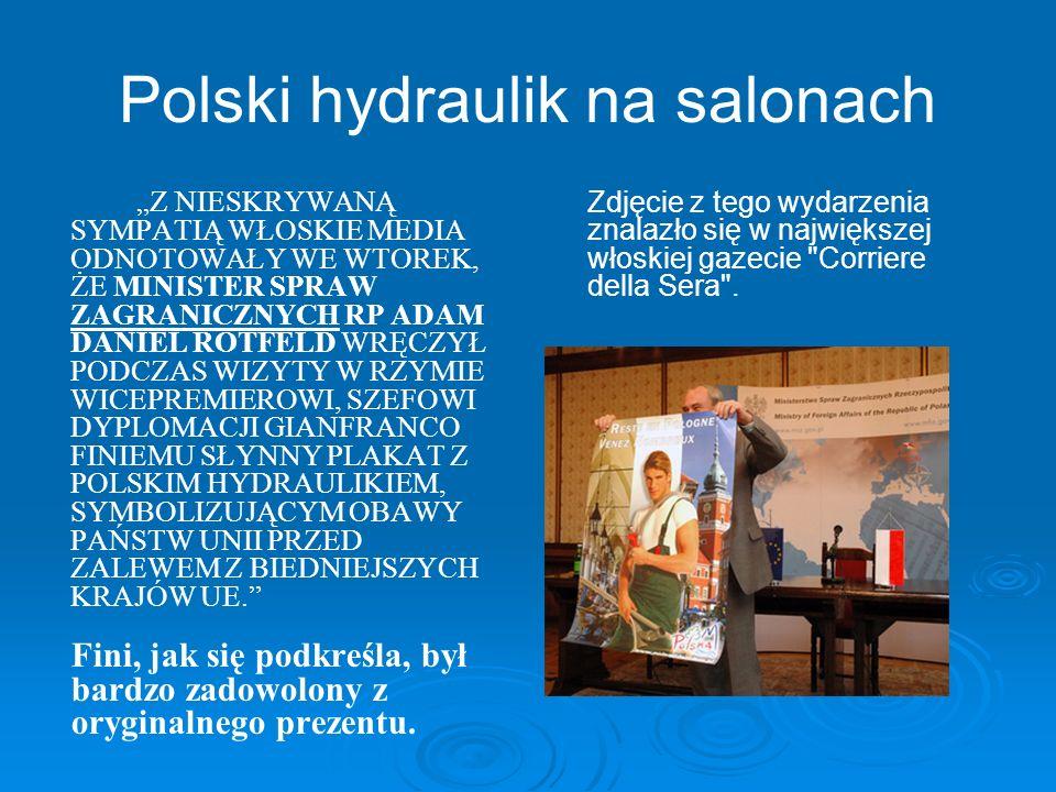 Polski hydraulik na salonach