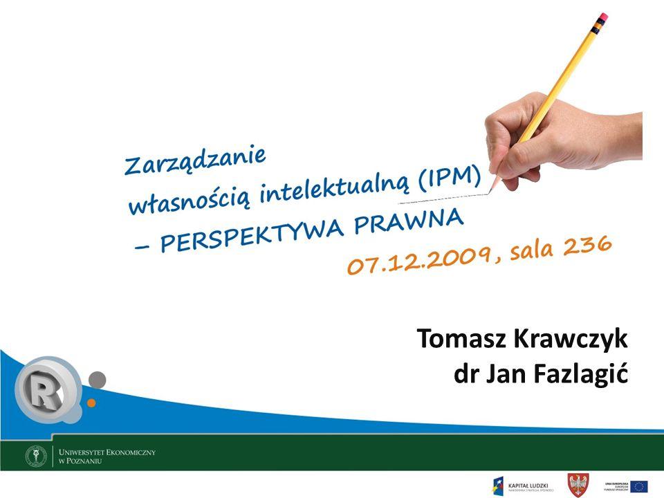 Tomasz Krawczyk dr Jan Fazlagić