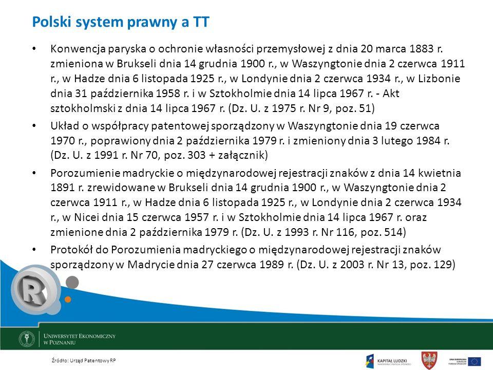 Polski system prawny a TT