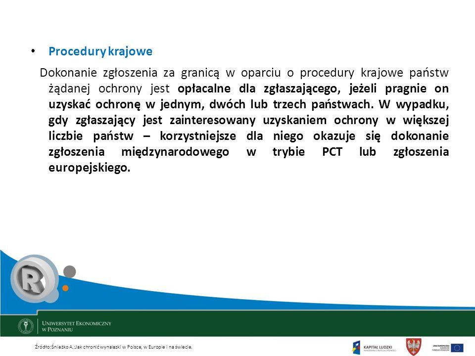 Procedury krajowe