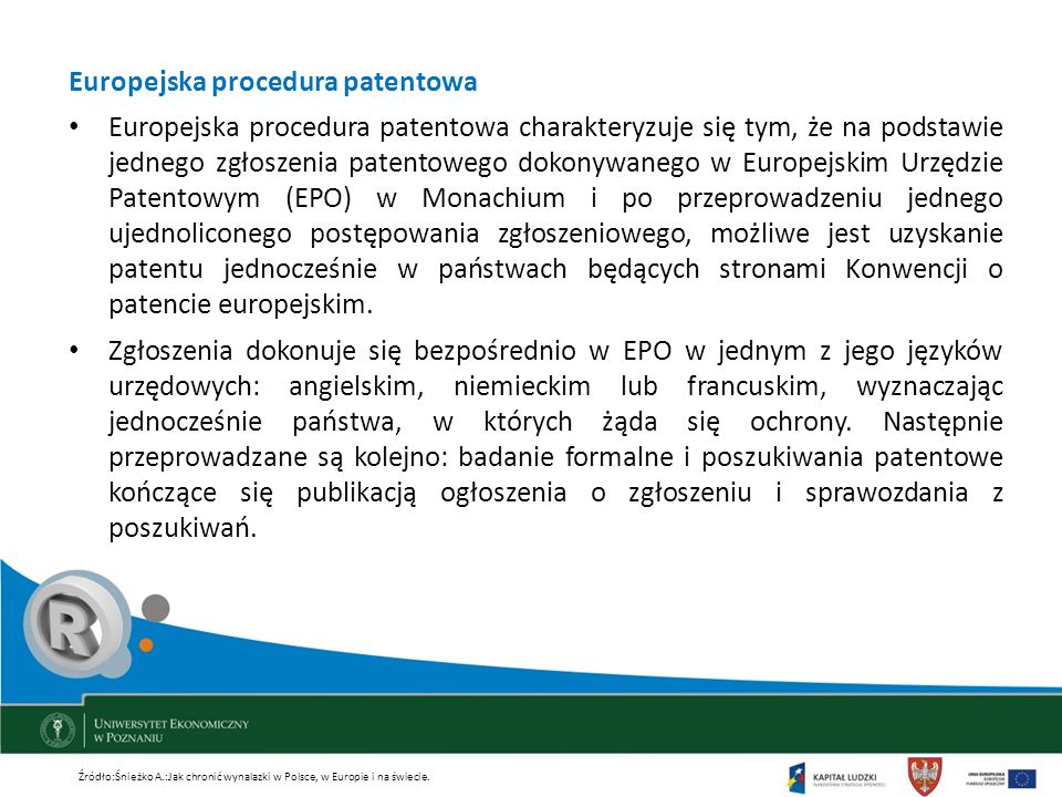 Europejska procedura patentowa