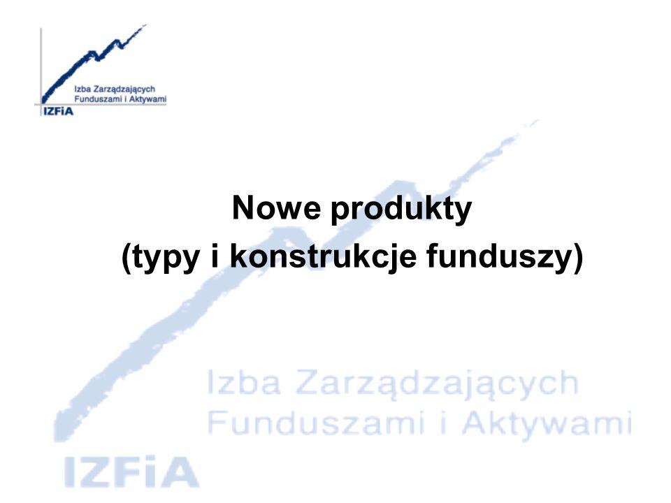 (typy i konstrukcje funduszy)