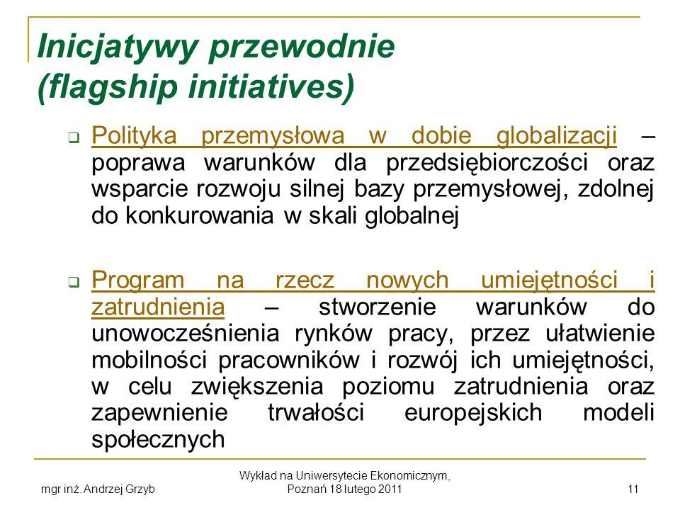 Inicjatywy przewodnie (flagship initiatives)