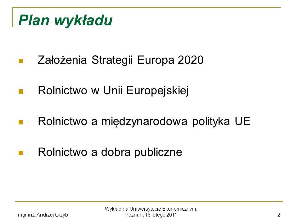 Wykład na Uniwersytecie Ekonomicznym, Poznań, 18 lutego 2011