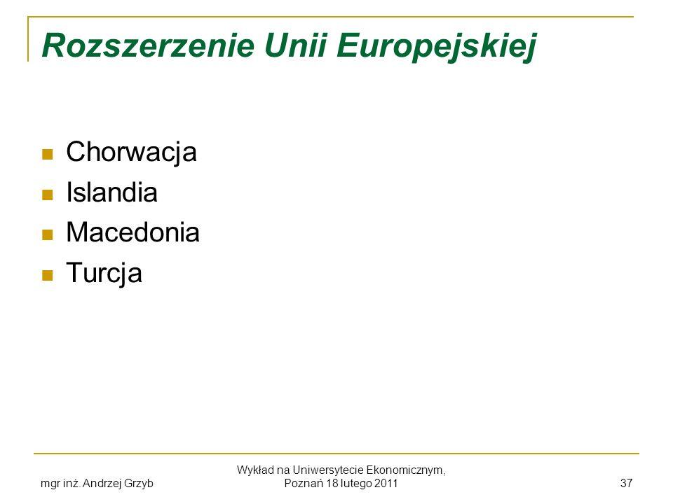 Rozszerzenie Unii Europejskiej